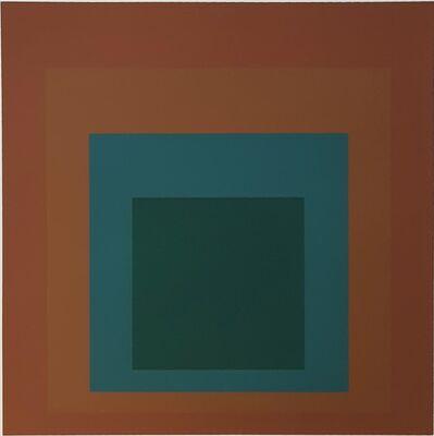 Josef Albers, 'Reserved', 1962