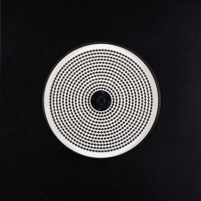 Gruppo MID, 'Quadro stroboscopico - S.GS.Q.04, 1966 Matrice a rombi neri'