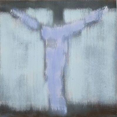 Robert Zandvliet, 'Crucifix Study I (blue)', 2018