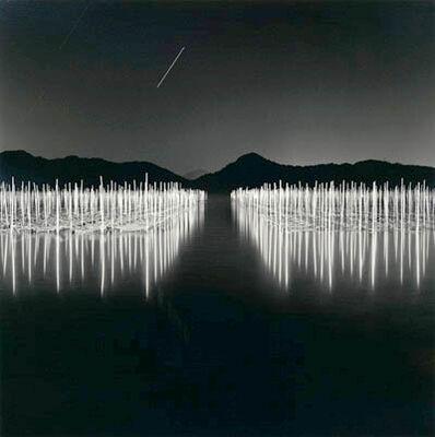 Rolfe Horn, 'Seaweed Farm, Toba, Japan', 2004-printed 2005