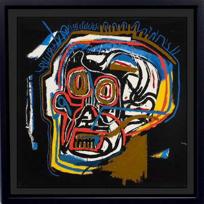 Jean-Michel Basquiat, 'Head', 1983