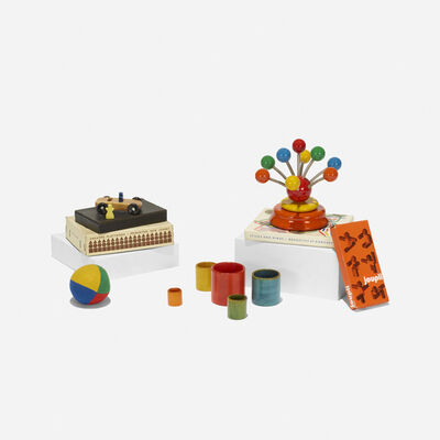 Various Designers, 'toy collection assembled by Paul Rand', 20th Century
