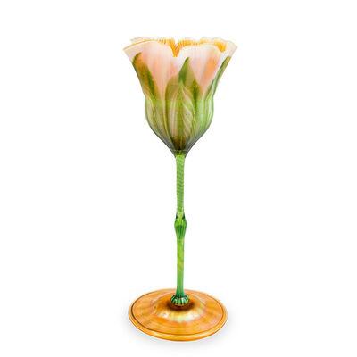 Louis Comfort Tiffany, 'Rare Floriform Vase Louis Comfort Tiffany Tiffany Studios New York 1905 signed Art Nouveau', ca. 1905