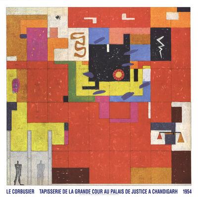 Le Corbusier, 'Wandteppich Fur Chandigarh', 2017