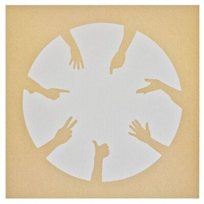 Nicola Green, 'Circle of Hands II', 2013