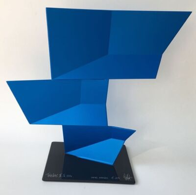 Rafael Barrios, 'Triedos II F223 - Iridescent blue, 2016'