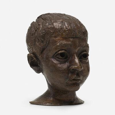 Jacob Epstein, 'Head of a Boy', c. 1950
