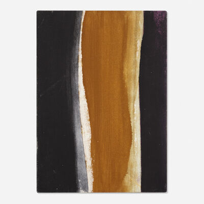 Cleve Gray, 'Black and Brown', c. 1968
