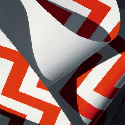 Nate Ronniger, 'Red Chevron No. 2', 2018