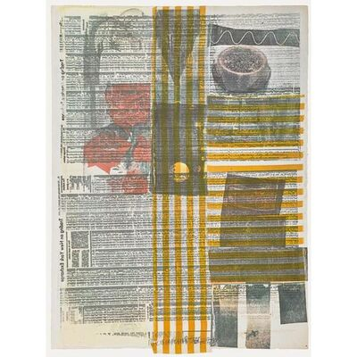 Robert Rauschenberg, 'One More and We'll Be Almost 1/2 Way There', 1979