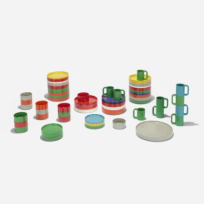 Massimo Vignelli and Lella Vignelli, 'Dinnerware collection', 1964