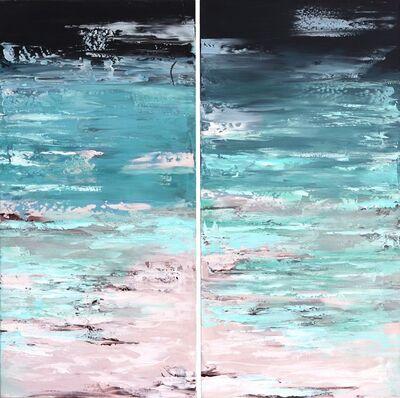 Ivana Milosevic, 'Ocean California Diptych', 2019
