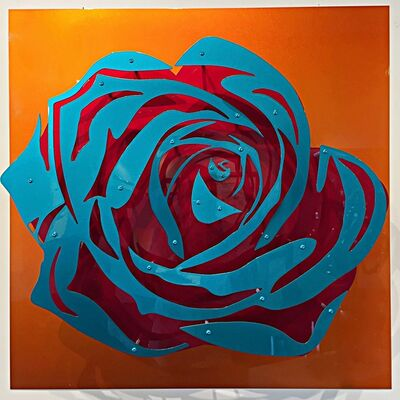 Michael Kalish, 'Candy Chrome Rose I ', 2017