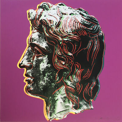 Andy Warhol, 'Alexander the Great II.291', 1982
