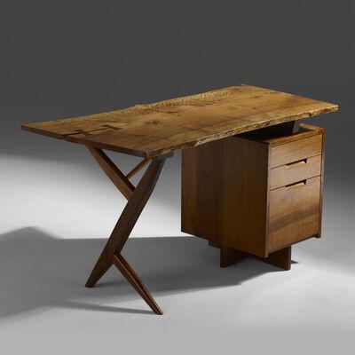George Nakashima, 'Conoid desk', 1984