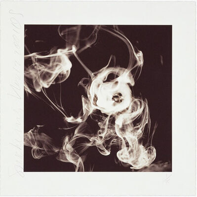 Donald Sultan, 'Smoke Rings (Nov. 12, 2001)', 2001