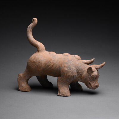 Han Dynasty, 'Han Terracotta Mythological Beast', ca. 206-220 AD