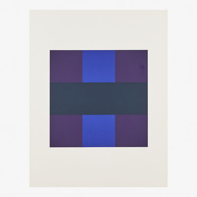 Ad Reinhardt, '# 6 from 10 Screenprints by Ad Reinhardt', 1966