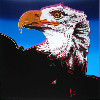 Andy Warhol, 'Bald Eagle II.296 from the Endangered Species portfolio', 1983
