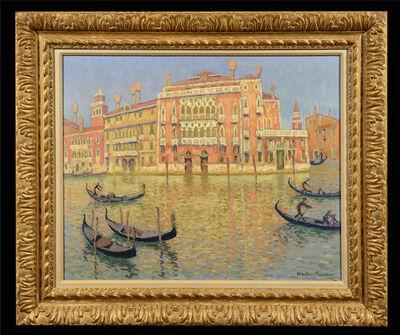 Jac Martin-Ferrieres, 'Palazzo Barbarigo', ca. 1900