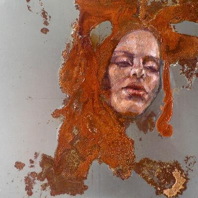 Sabatino Cersosimo, 'Experiment auf Stahl IX', 2013