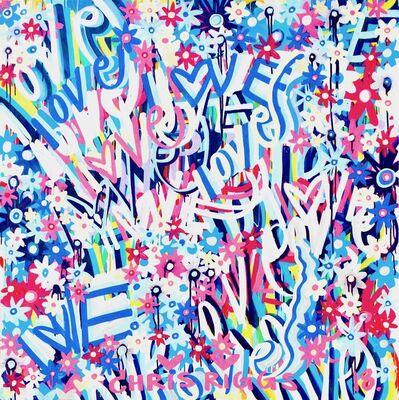 CHRIS RIGGS, 'Love Painting 5', 2018