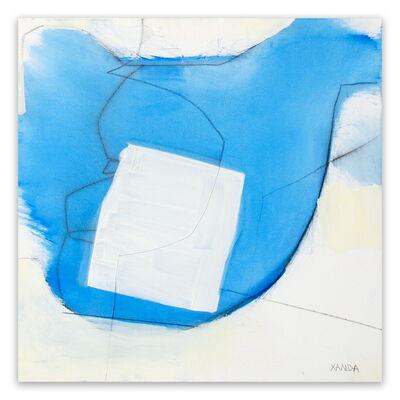 Xanda McCagg, 'Blue White Line', 2014