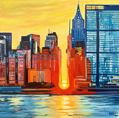 Angela Wakefield, 'New York City Sunset', 2019