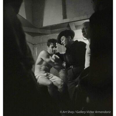 Art Shay, 'Rocky Graciano in Locker Room After Fight, 1948', 2017