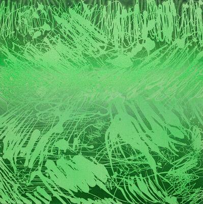 Xiao Bo, 'Sketches 2017 – Green 17', 2017