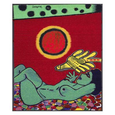 Corneille, 'Le tapis à fleurs ', 1988