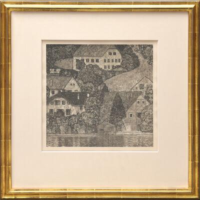Gustav Klimt, 'Am Attersee, Ölgemälde auf Leinward.', 1931