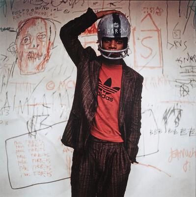 Edo Bertoglio, 'HELMET (Jean-Michel Basquiat)', 1982