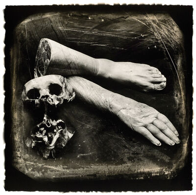 Joel-Peter Witkin, 'Poet, from a Collection of Relics and Ornaments', 1986