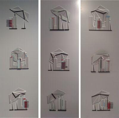 Fabian Tanferna, 'Far Away Paper Ships ... Rotation - triptych', 2016