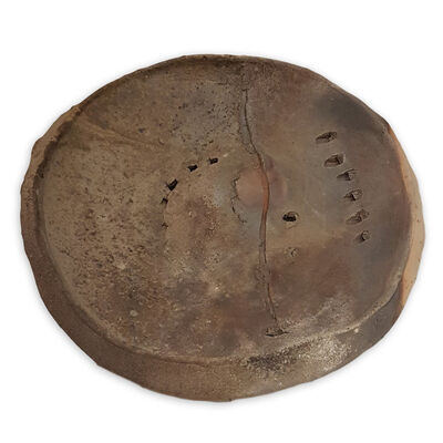 Peter Voulkos, 'Wood Fired Platter', 1989