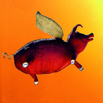 Janet Milhomme, 'Flying Pig #6', 2018