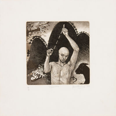 Anupam Sud, ' Capricorn (This is a set of 12 works)', 1992