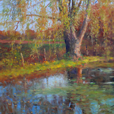 Thomas McNickle, 'WILLOW POND-OCTOBER', 2020