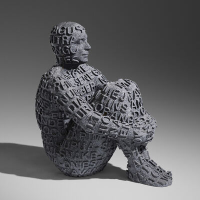 Jaume Plensa, 'Self Portrait with Rivers IV', 2006