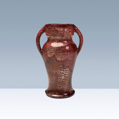 Kähler, 'Very large vase with two handles', ca. 1897