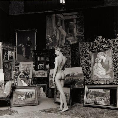 Jeanloup Sieff, 'Nu Pompier, Paris', 1956