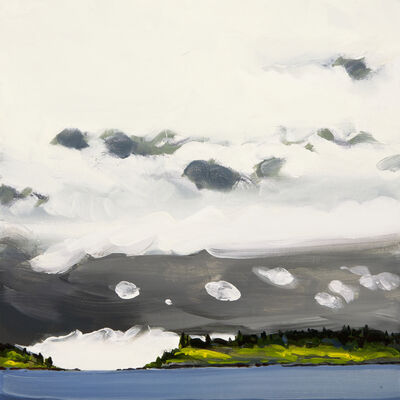 Susan Headley Van Campen, 'White Clouds and Grey Clouds ', 2021