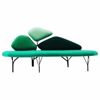 Noé Duchaufour-Lawrance, 'Borghese Sofa by Noé Duchaufour Lawrance (Color: Green)', 2017