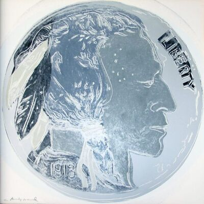 Andy Warhol, 'Cowboys and Indians: Indian Head Nickel, II.385', 1986