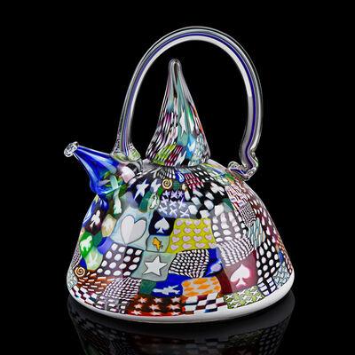 Richard Marquis, 'Large Crazy Quilt Teapot', 1985