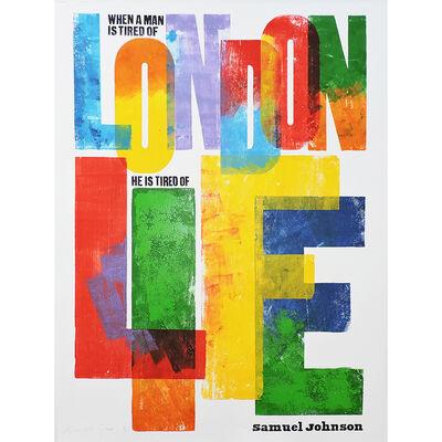 Alan Kitching FRCA RDI, 'London Life', 2016