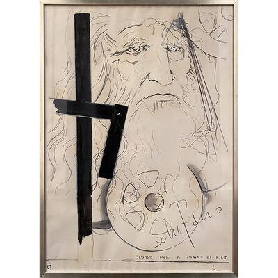 Mario Schifano, 'Studio per K Sogno Di F.L.S.', 1934-1998