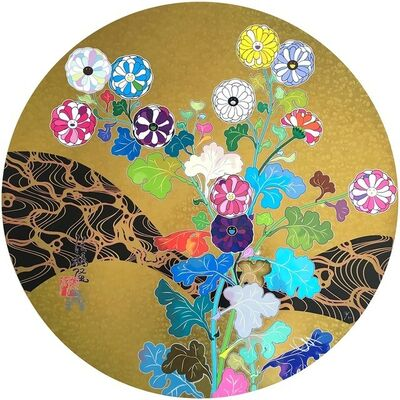 Takashi Murakami, 'Kansei: The Golden Age ', 2014