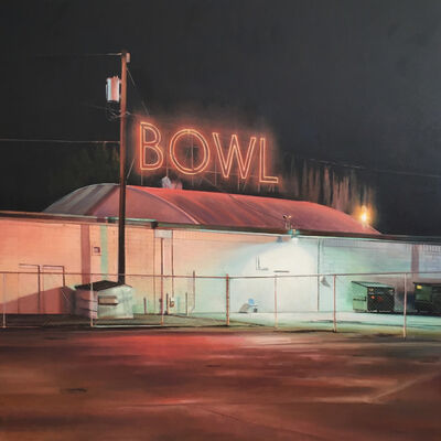 "James Randle, '""Bowl""', 2018"
